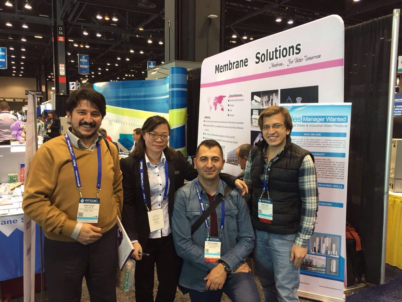 Membrane Solution - SCI PITTCON 2017 Meeting